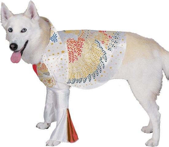 Elvis -Kostuum voor dieren - Maat M