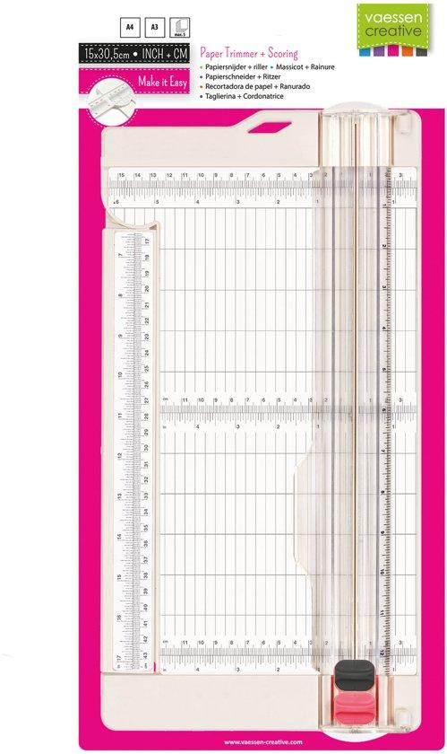 Bol Com Vaessen Creative Papiersnijder En Riller 15 2 X