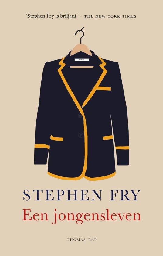 Boek cover Een jongensleven van Stephen Fry (Onbekend)