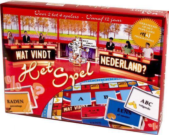 Wat vindt Nederland Het Spel