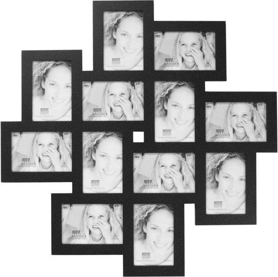 Fotolijst 10 Fotos.Bol Com Fotolijst Multiblok Zwart Fotomaat 10x15 Cm