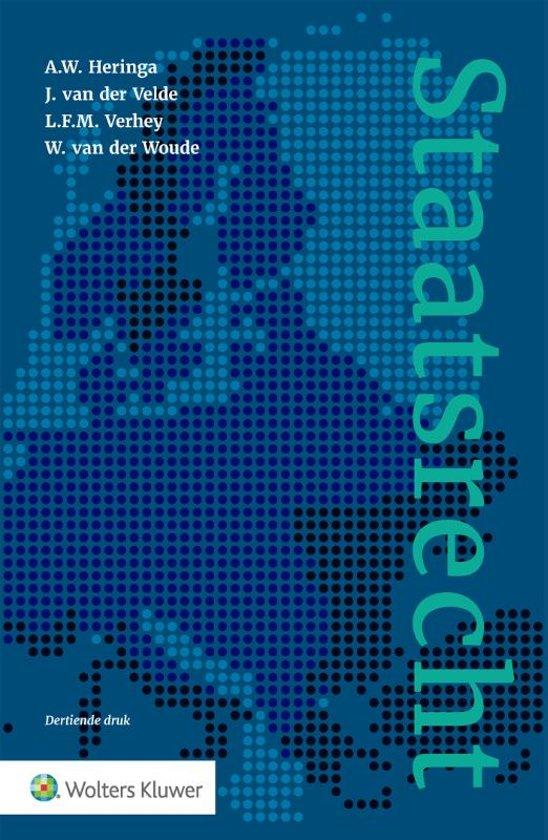 Boek cover Staatsrecht van A.W. Heringa (Hardcover)