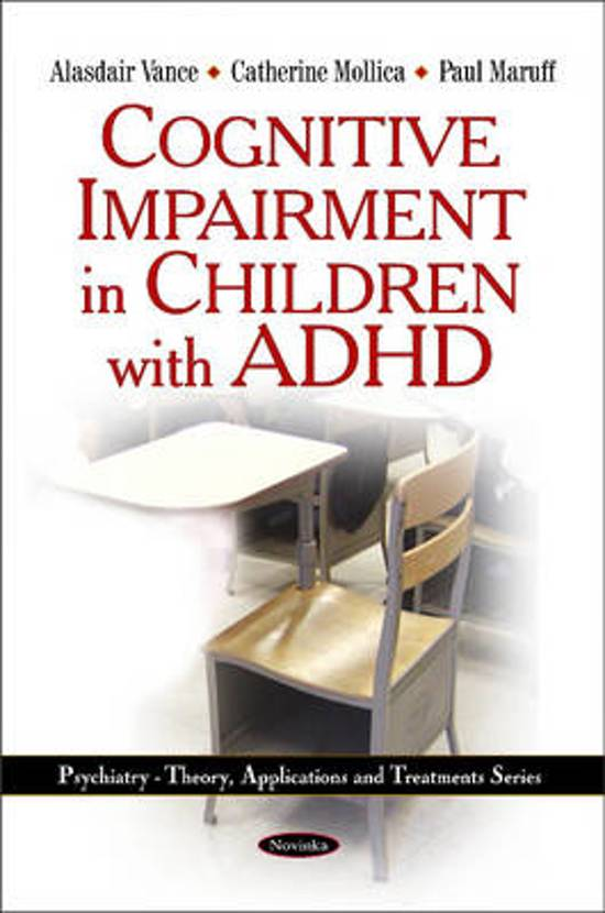 Cognitive Impairment in Children with ADHD