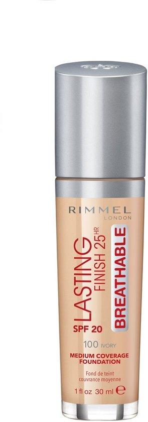 Rimmel London Lasting Finish Breathable Foundation - Ivory - Beige