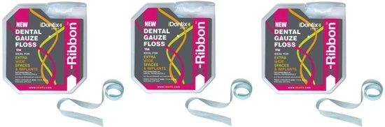 iDontix X-Ribbon 12meter - 3 stuks - Voordeelpakket