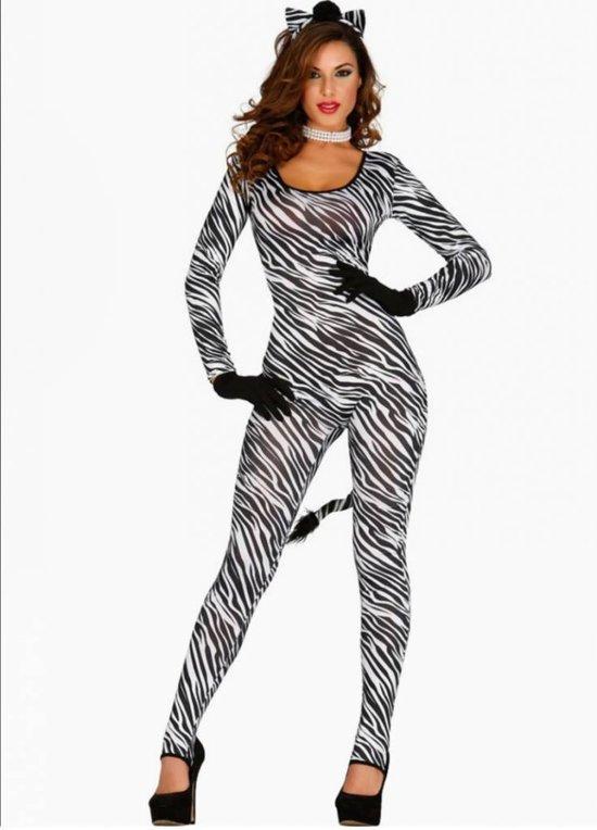 Second Skin Pak Zebra Dames
