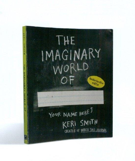 Boek cover De fantasiewereld van van Keri Smith (Paperback)