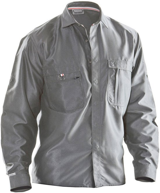 5601 Worker shirt polyester Graphite grey xs