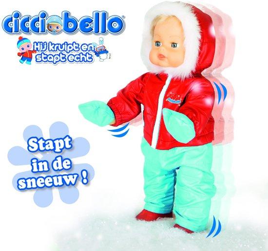 Cicciobello Winter Stapt in de sneeuw - Pop