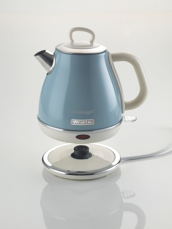 Ariete 2868 Retro Waterkoker 1 L Blauw