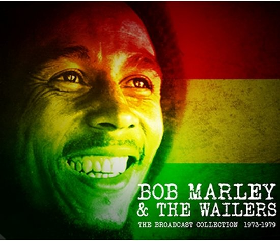 CD cover van The Broadcast Collection 1973-1979 van Bob & The Wailers Marley