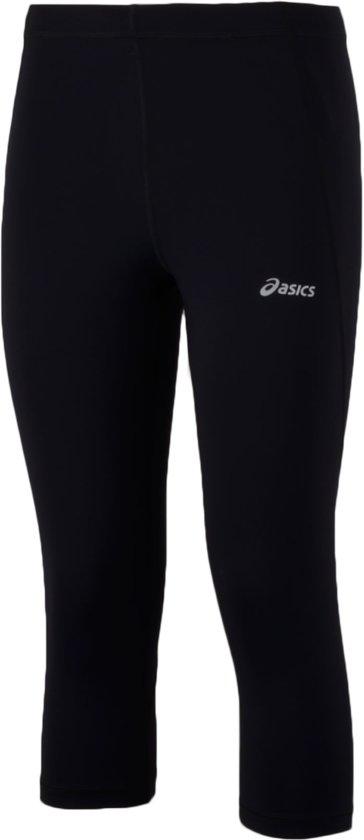 Asics Core Hardloop Driekwart - Hardloopbroek - Vrouwen - Maat S - Zwart