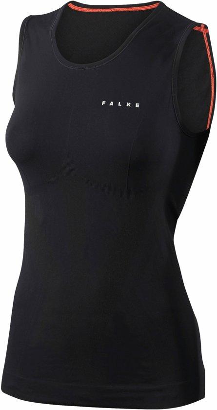 FALKE Warm Dames Tight Singlet - Zwart - Maat S