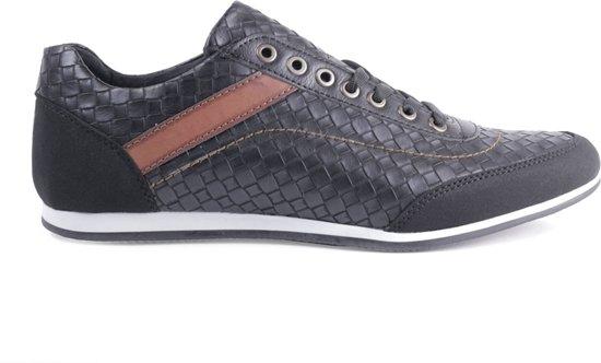 40 Maat Schoenen Van Sneakers Heren Mannen Manzotti Laag Zwart qZ66Tw