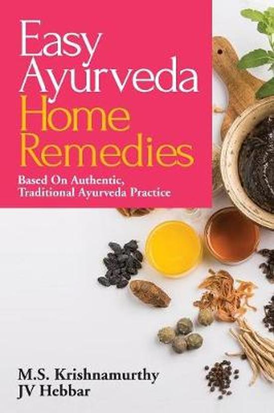 Boek cover Easy Ayurveda Home Remedies van M S Krishnamurthy (Paperback)