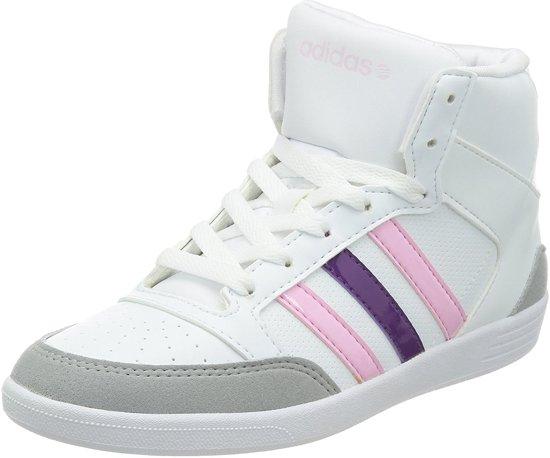 adidas sneakers dames hoog wit