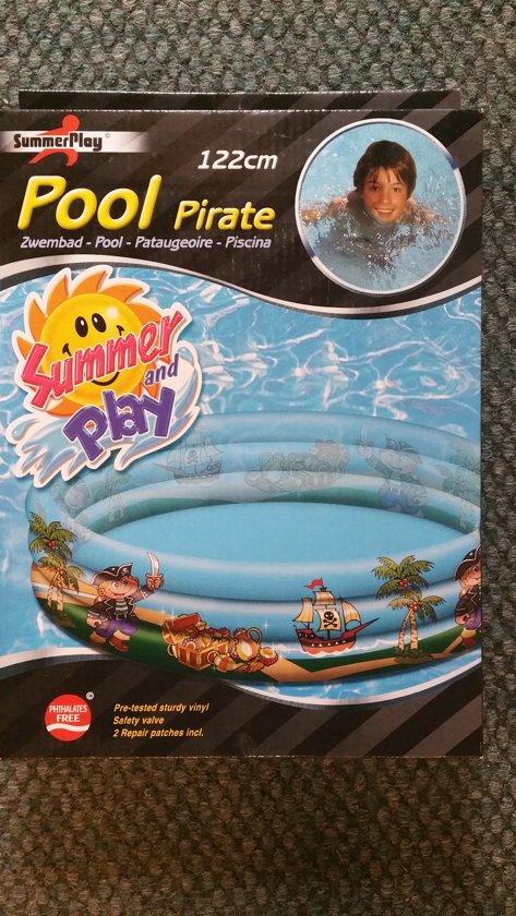 Zwembad Piraat 122 cm