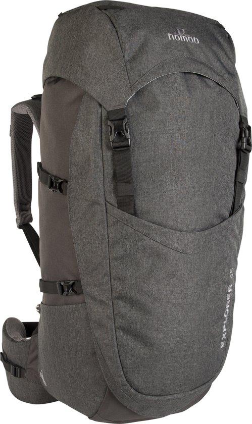 3a414468917 bol.com | Nomad backpack Explorer 65 liter - donkergrijs