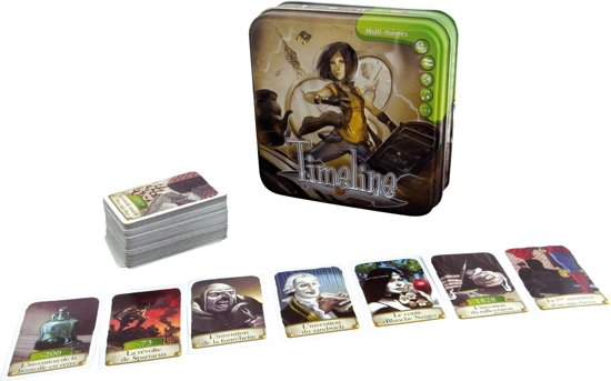 Timeline Multi Thema's - Kaartspel