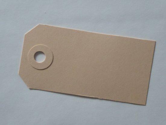 label 90 x 45 mm karton 200 stuks - crème kleur