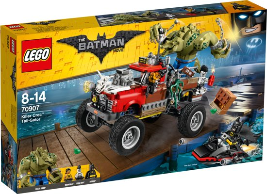 LEGO Batman Movie Killer Croc Monstertruck  - 70907