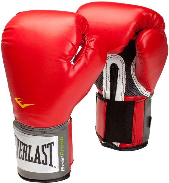 Velcro Pro Style Training Gloves | 12 oz Rood