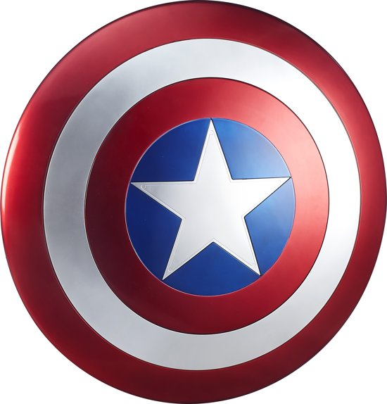 bolcom  Marvel Avengers Legends Captain America Schild  60 cm