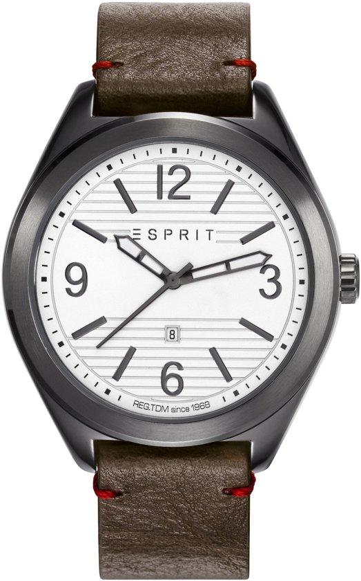 Esprit ES108371003 Horloge - Bruin - Ø 44 mm