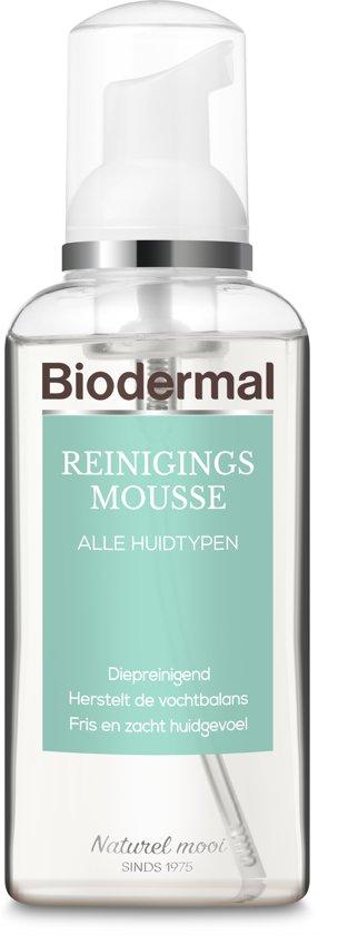 Biodermal reinigingsmousse vochtarm - Reinigt en hydrateert -  150ml