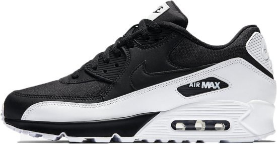 3a1ed320e99 bol.com | Nike Air Max 90 Essential Sneakers Heren - zwart/wit