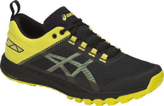 Asics Gecko XT  Hardloopschoenen - Maat 45 - Mannen - zwart/geel/grijs