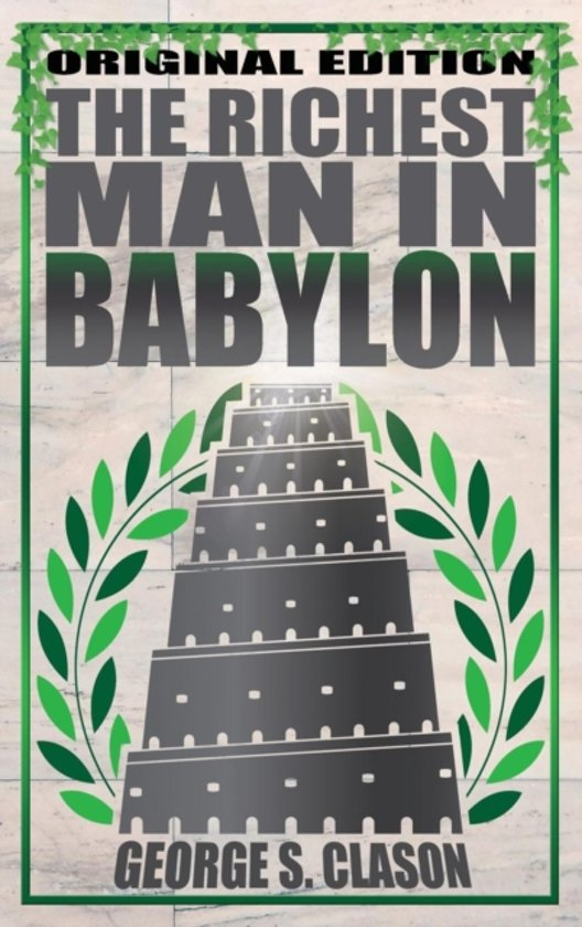 Boek cover Richest Man in Babylon van George S. Clason (Hardcover)