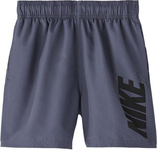 3 Kwart Zwembroek.Bol Com Nike Swim 4 Volley Short Jongens Zwembroek Grijs Maat