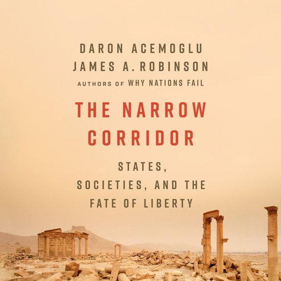 Boek cover The Narrow Corridor van Daron Acemoglu (Onbekend)