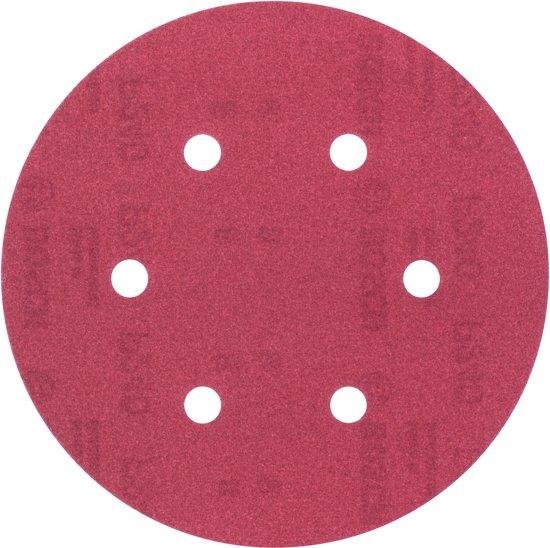 Bosch 5-delige schuurbladset voor excenterschuurmachines 150 mm geperforeerd - korrel 240