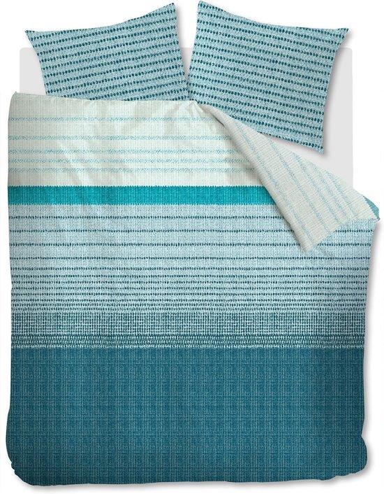 Beddinghouse Java - Dekbedovertrek - Eenpersoons - 140x200/220 cm - Blauw