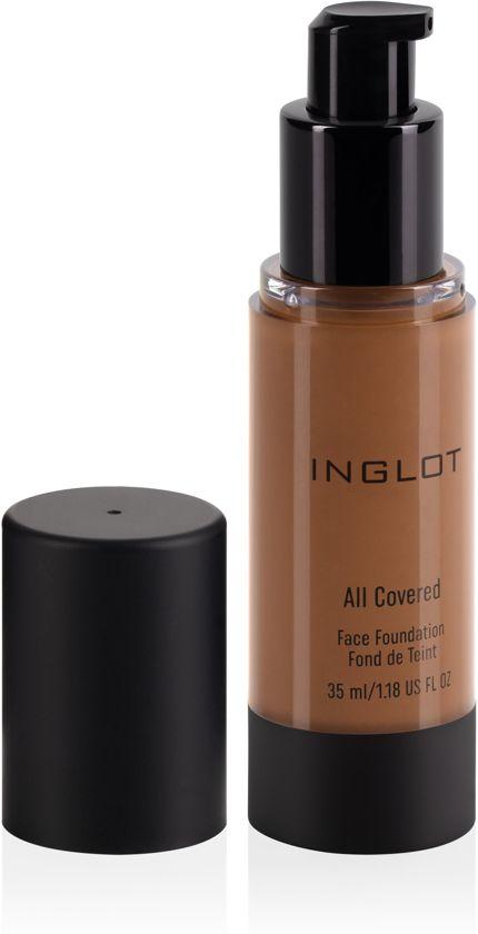 INGLOT All Covered Face Foundation 34 - Donkere huidskleur