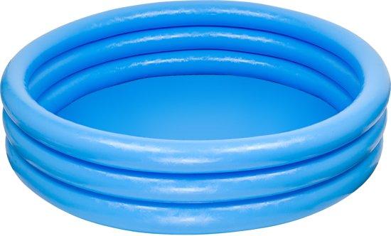 Intex Opblaasbaar Zwembad Crystal - 3 Rings - 168 cm