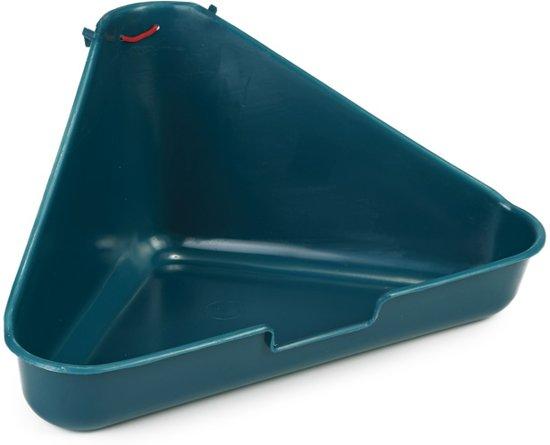 Beeztees Hoektoilet - Knaagdier - Groen - 35x20x17 cm
