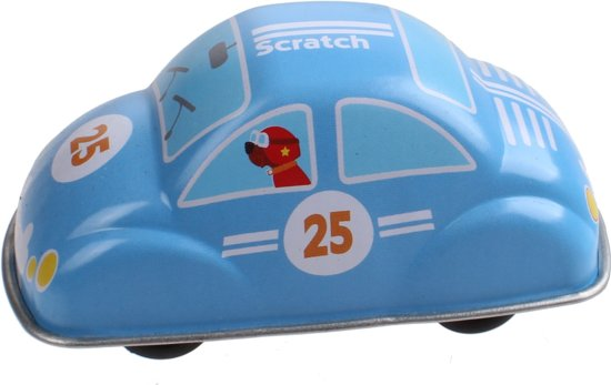 Scratch Pull-back Auto's Metaal Blauw