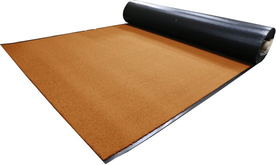 Tapijtkeuze Deurmat loper Suva - oranje - 130 x 100 cm