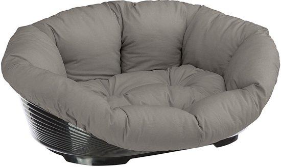 Ferplast hondenmand met kussen sofa 8 Grijs - 85x62xH28,5 cm