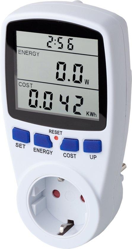 EcoSavers Energiemeter Energieverbruiksmeter - Verbruiksmeter, meten = weten - Nauwkeurig energieverbuik monitoren