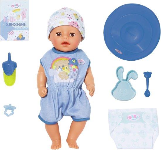 Afbeelding van BABY born Soft Touch Little - Jongen - Babypop 36cm speelgoed