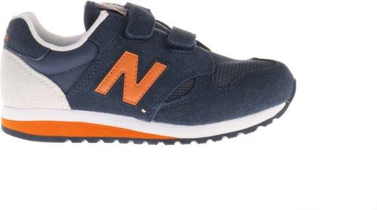 new balance blauw oranje