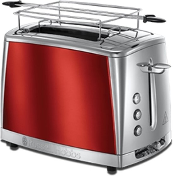 Russell Hobbs 23220-56 Luna Solar Red - Broodrooster - Rood