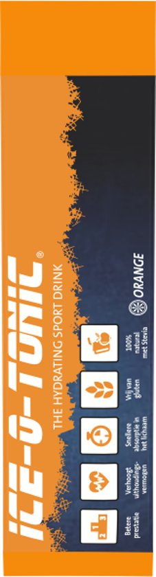 Ice-O-Tonic Poedersticks Orange 12 stuks