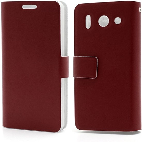 Huawei Ascend G510 Doormoon Bookstyle Case Rood