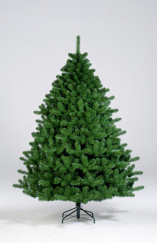 kunstkerstboom norway spruce blauw 225 cm met warme led verlichting