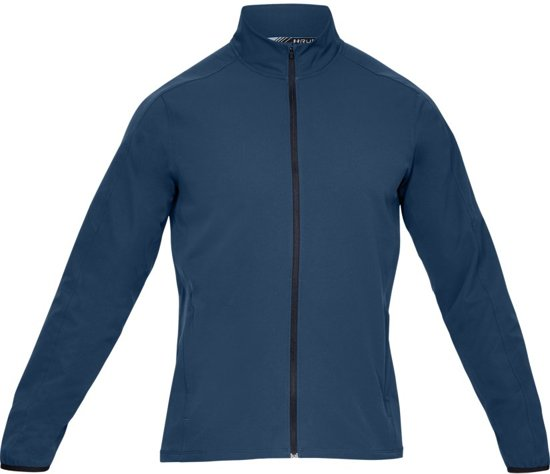 Under Armour Storm Launch Jacket Sportjas Heren - Petrol Blue - Maat M
